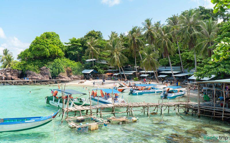 Tour Du Lịch Cano Phú Quốc Khám Phá Hòn Móng Tay