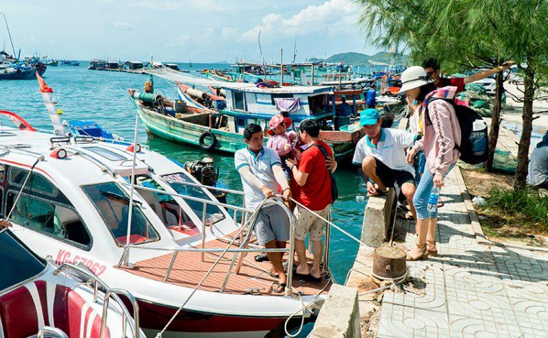 Tour 5 Đảo Phú Quốc Bằng Cano 1 Ngày