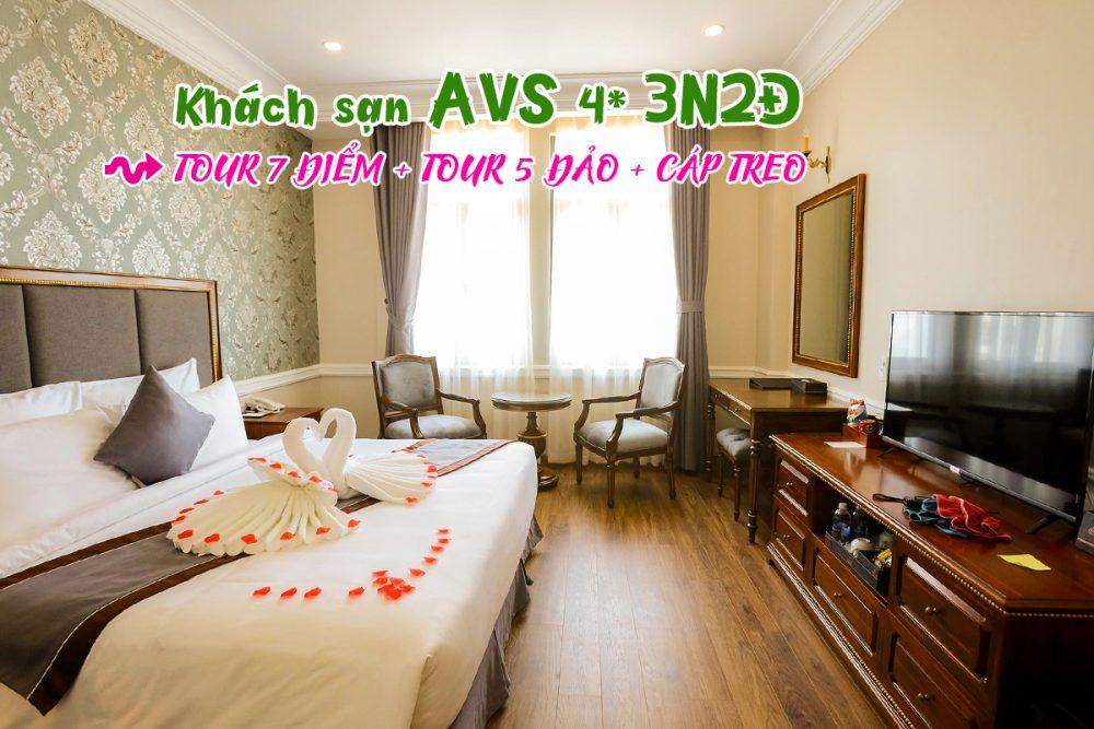 Tour Phú Quốc 3 ngày 2 đêm khách sạn AVS
