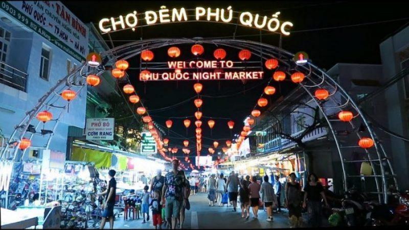 Dạo quanh Chợ Đêm Phú Quốc nổi tiếng