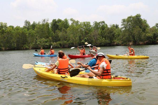 chèo thuyền kayak phú quốc