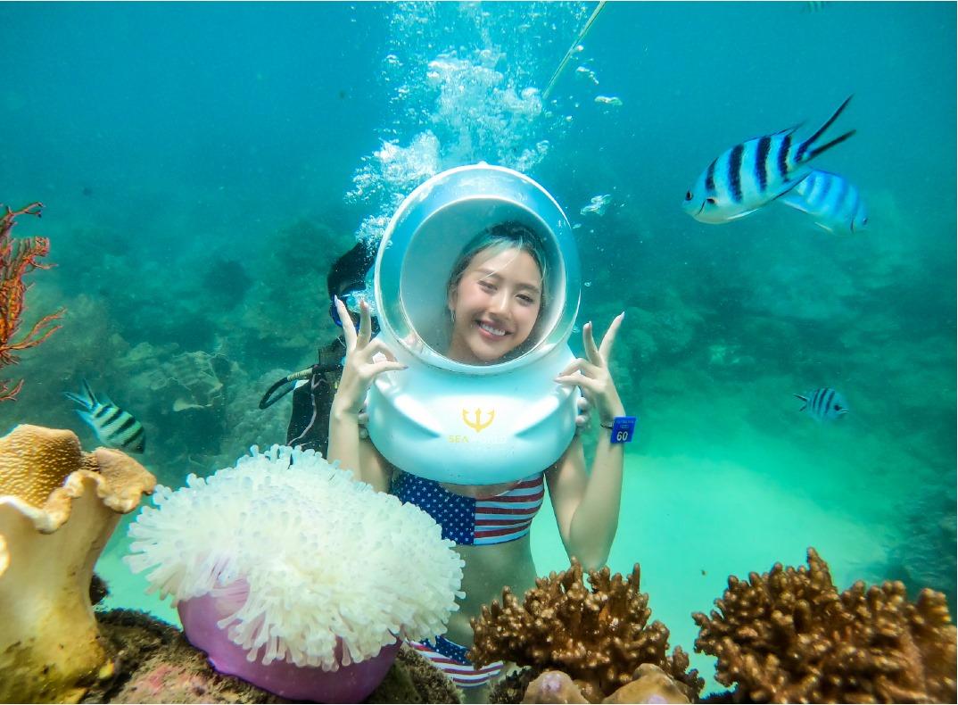 Ngắm nhìn thế giới san hô vẫn có thể thở như trên đất liền