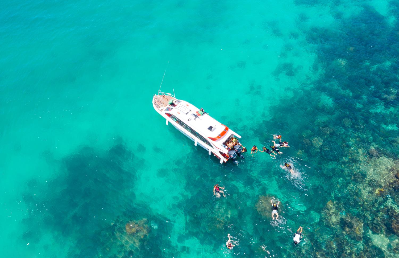 Hòn Gầm Ghì được mệnh danh là vương quốc san hô của Phú Quốc