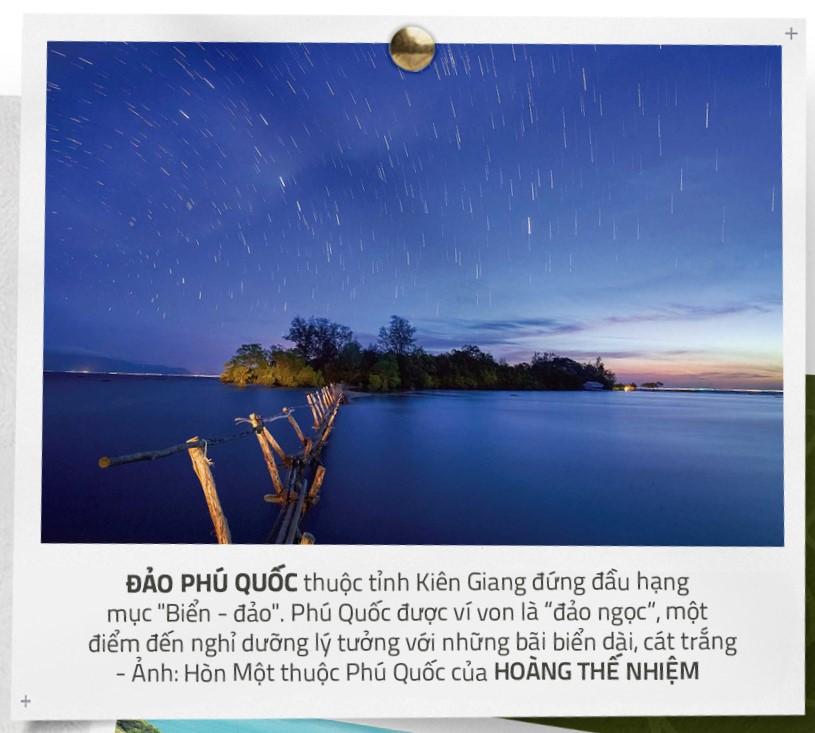 Phú Quốc là 1 trong 15 điểm đến được ưa thích nhất đất Việt