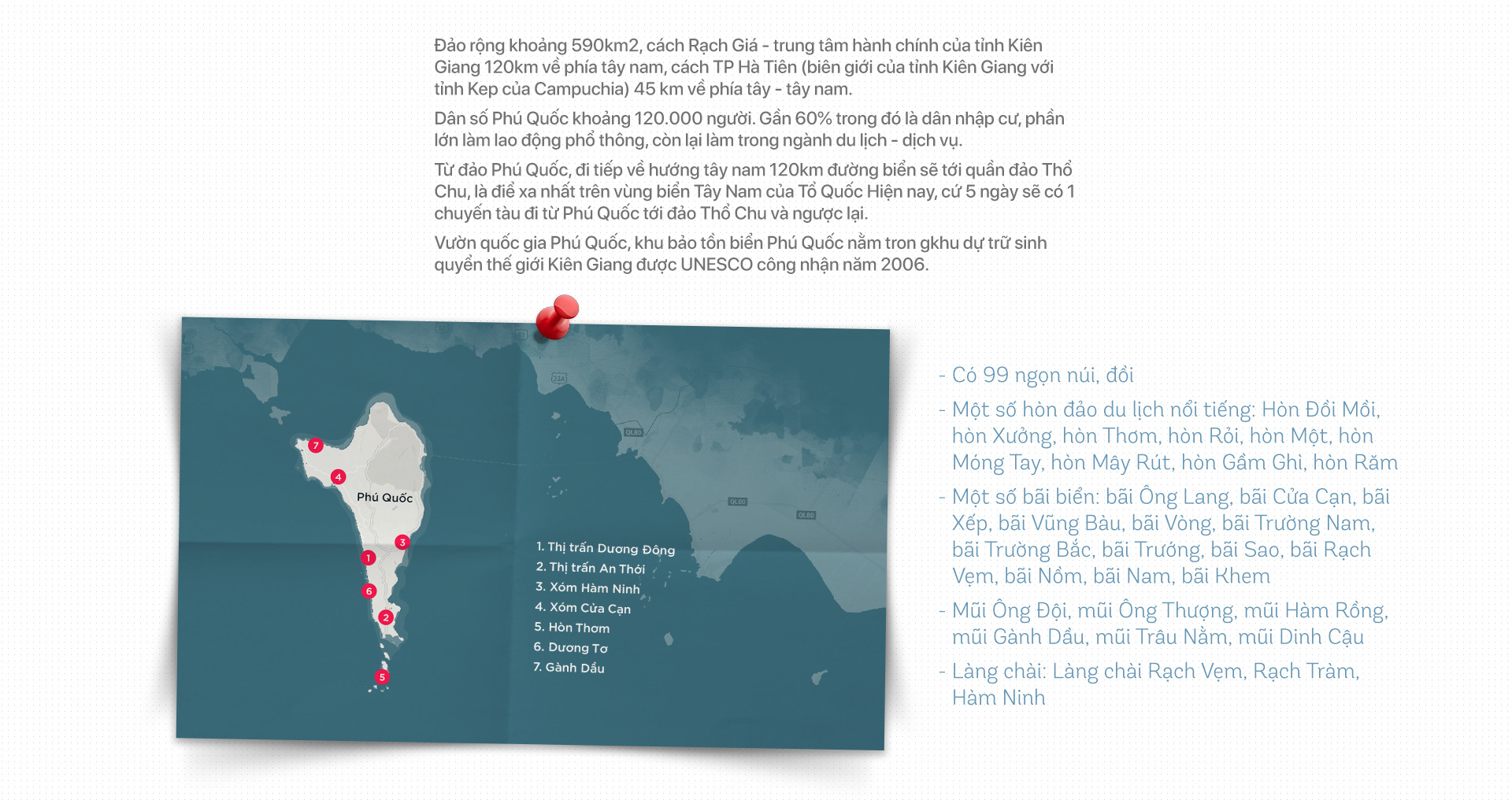 Bản đồ tinh gọn Phú Quốc