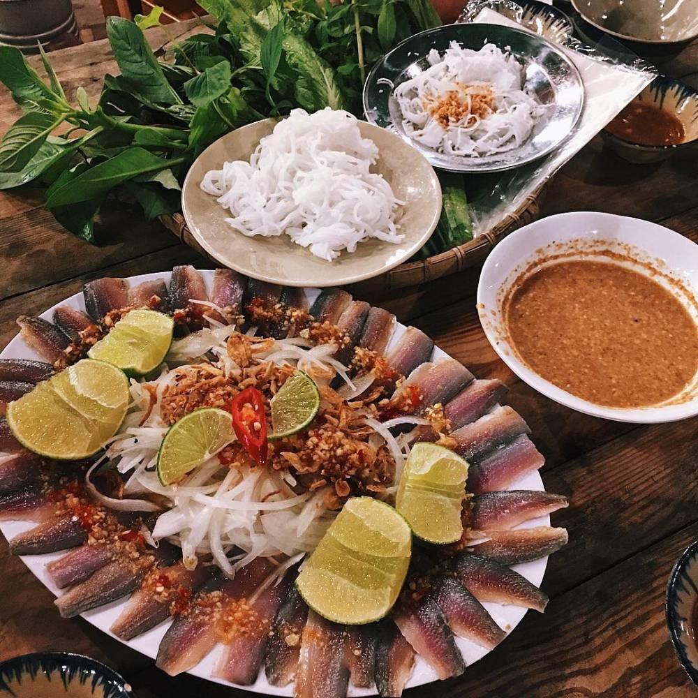 Gỏi cá trích – Điểm nhấn của ẩm thực Phú Quốc