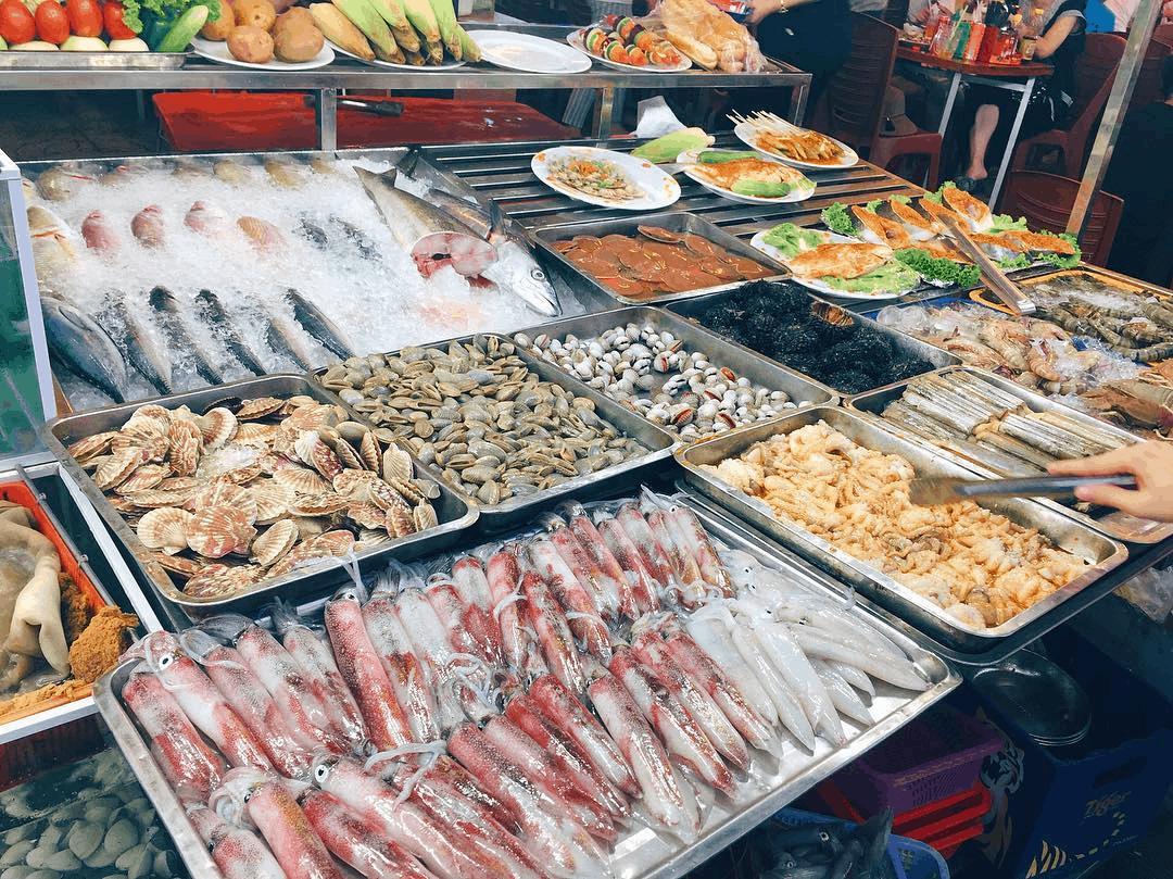 Hải sản Phú Quốc cực kỳ tươi ngon